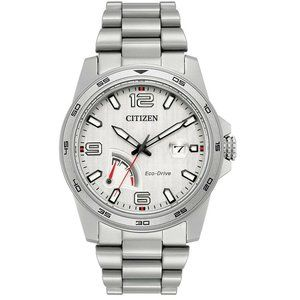 Citizen Men's Silver Two Tone 42mm Watch